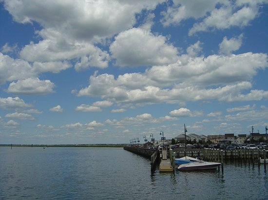 On the way to Cape May, Stone Harbor skies ARE blue...