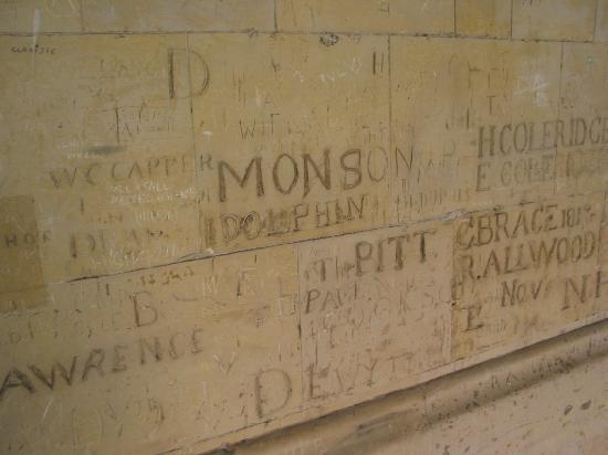 Eton - Eton College - Wall Graffiti