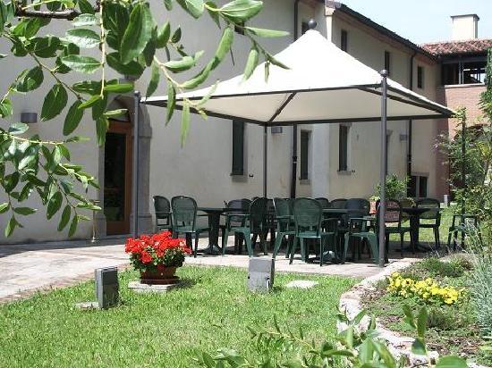 Monselice, İtalya: venetian garden