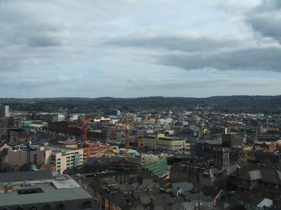 Cork, Ireland: The view from the tower