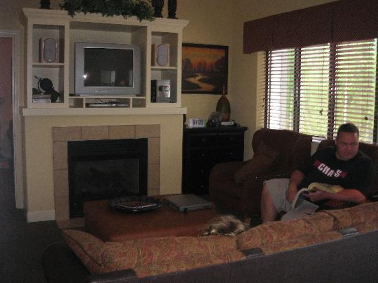 Living Room Of 1 Bedroom Picture Of Bluegreen Vacations