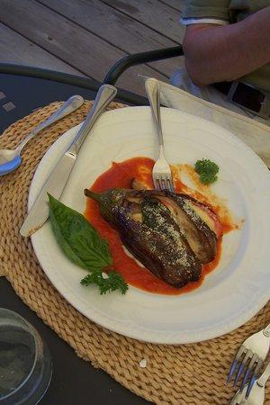 Harmony Hall Italian Restaurant: Baked Eggplant