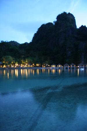 El Nido Resorts Lagen Island: Lagen Resort at Dusk