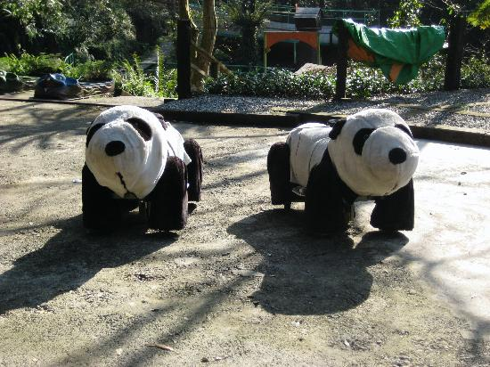Yun Hsien Holiday Resort: The mechanical bears