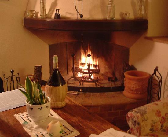 Agriturismo Cretaiole di Luciano Moricciani: My Apt Fireplace - il Pollaio