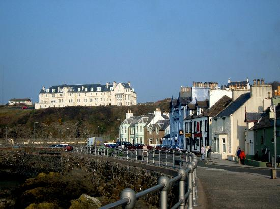 The Portpatrick Hotel: scenery great