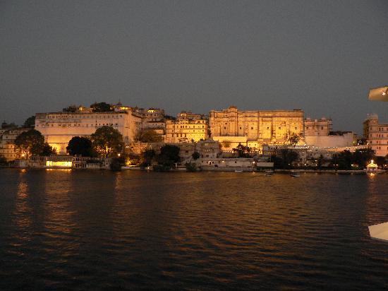 Taj Lake Palace Udaipur: coucher de soleil