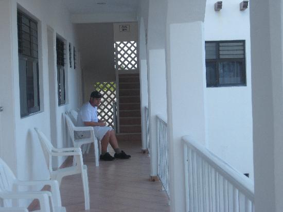 Hotel Marcianito: 3rd floor balcony