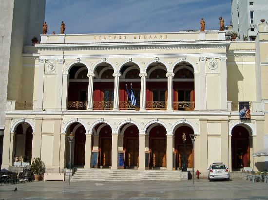 Patras, Grèce : The Municipal Theatre