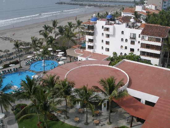 Sea Garden Nuevo Vallarta: View from our room