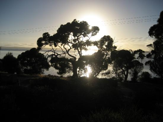 Mercure Kangaroo Island Lodge: view from our room - sunrise