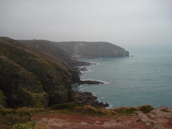 Hotel Ariane : The cliffs