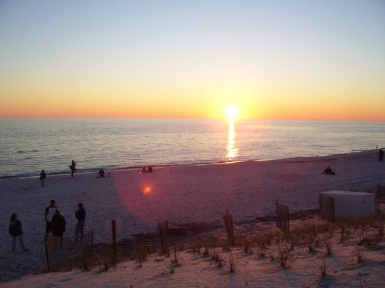 Destin, FL: Sunset from Seaside's Beach