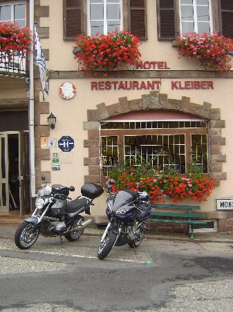 Hotel Restaurant Kleiber : façade de l'hôtel