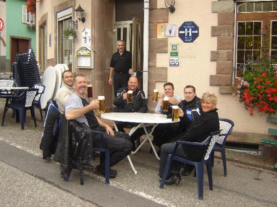 Hotel Restaurant Kleiber : A votre santé