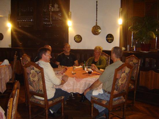 Hotel Restaurant Kleiber : au diner