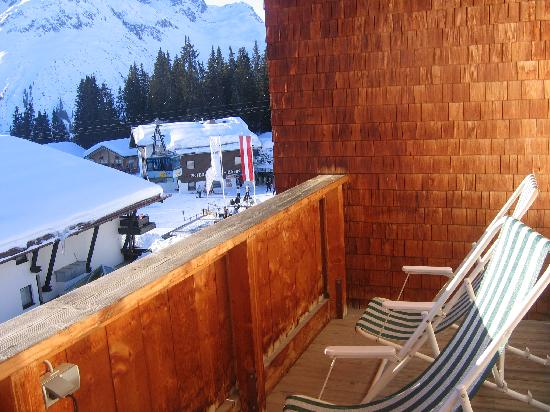 Hotel Ilga: View from balcony
