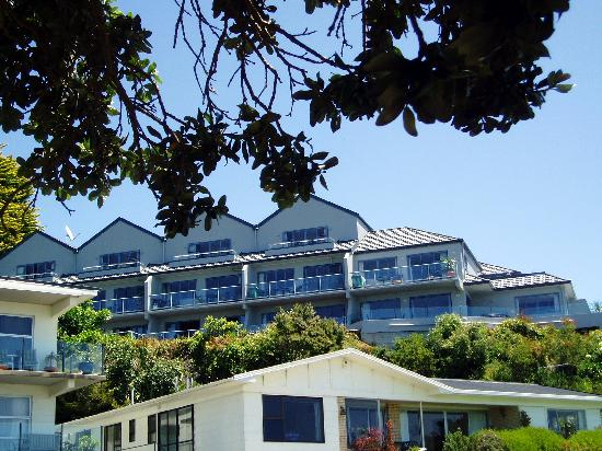 Blue Pacific Apartments Paihia : Apartments from waterfront