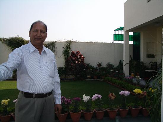 Garden Villa Homestay: Mr. Rajbansh - the owner
