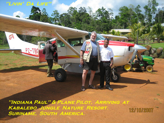 Kabalebo Nature Resort: Arrival At Kabalebo By Airplane.