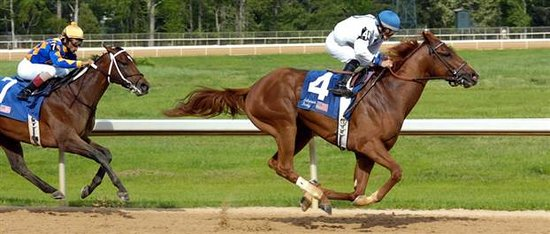 Oaklawn Racing & Gaming: Lawyer Ron winning the 2006 Arkansas Derby
