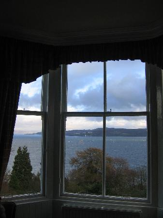 Abbot's Brae Hotel: View from bedroom window