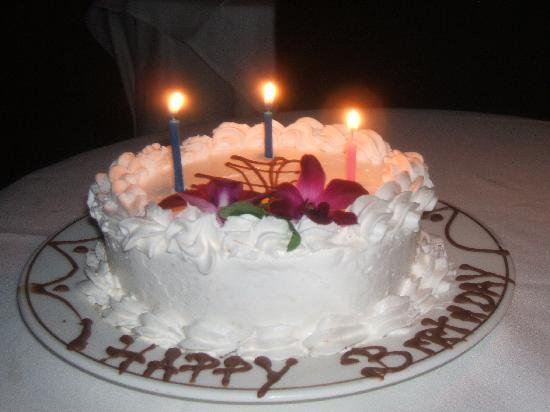 Birthday Cake They Gave My Husband Picture Of Couples Negril