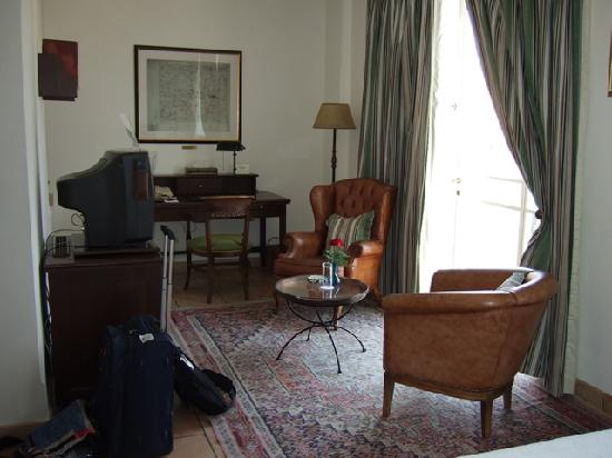 The American Colony Hotel: double room, 3rd floor, old building - the rest of the room