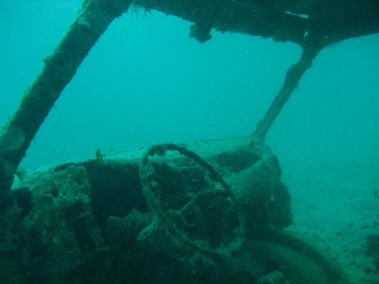 Wreck of the River Taw: The sunken van that is near the wreck