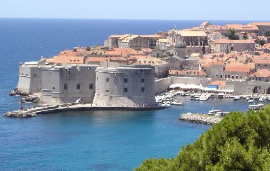 Dubrovnik Residence: Same view, cropped