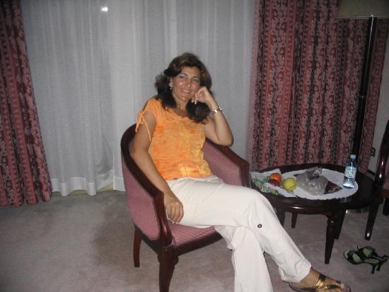 Remisens Premium Hotel Metropol : me in the hotel room