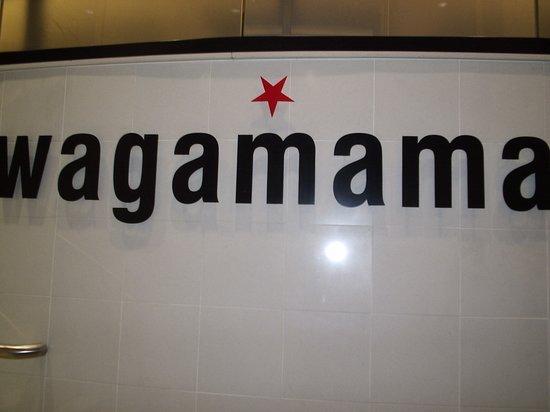 Wagamama : Signage