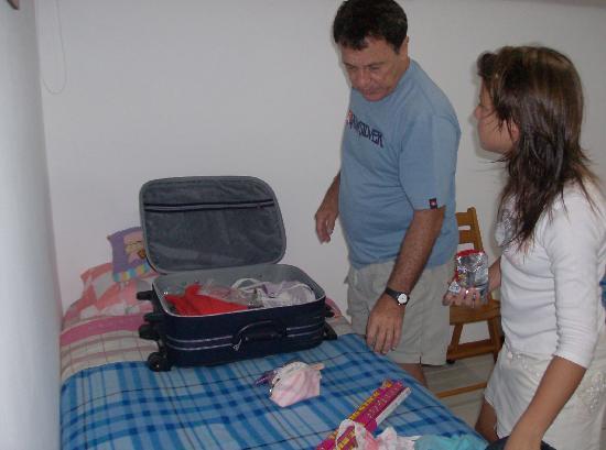 Conjunto Loma Real en Isla Margarita : empacando antes de partir
