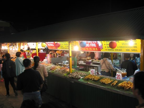 Chiang Rai Night Bazaar : Chiang Rai - The Night Bazaar