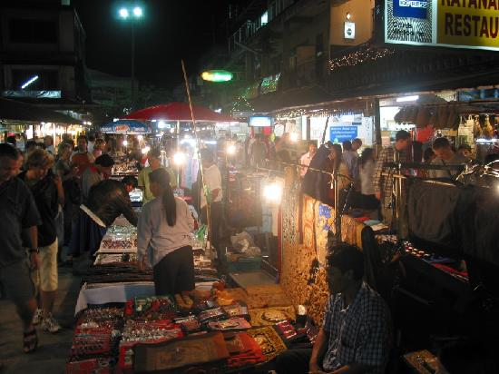 Chiang Rai - Night Bazaar