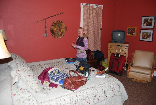 The Leland House and Rochester Hotel: My wife in the room