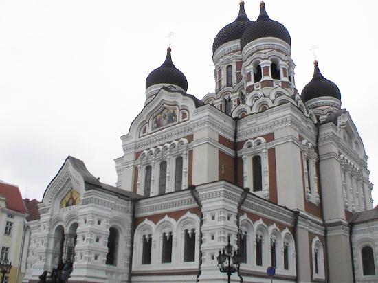 L'Ermitage Hotel: Alexander Nevsky cathedral.