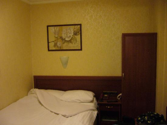Troya Hotel: Single bedroom