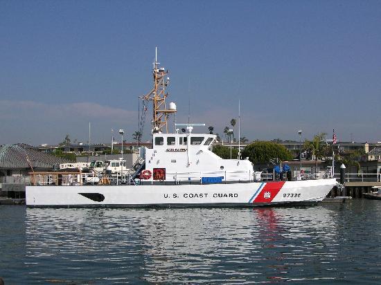 Newport Beach, Kaliforniya: US Coast Guard Headquarters on Balboa Island