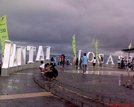 Losari Beach: losari on the cloud
