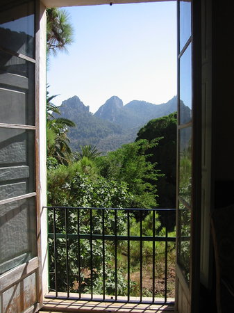 Bunyola, Spanien: View from the main house