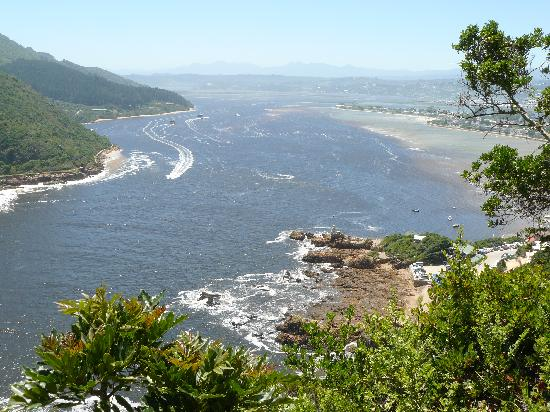 Candlewood Lodge: view from Knysna heads