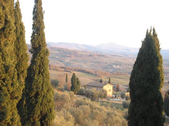 Scenery around Pienza