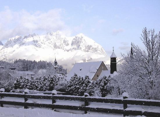 Hotel Edelweiss: Fantastis views