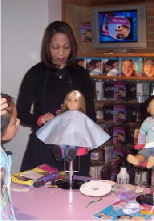 American Girl Place - New York: Hair Salon 2