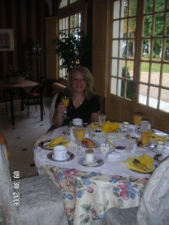 Château la Pasquerie : Breakfast