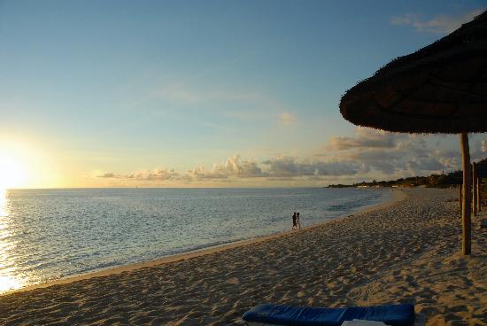 Belmond La Samanna: the beautiful beach