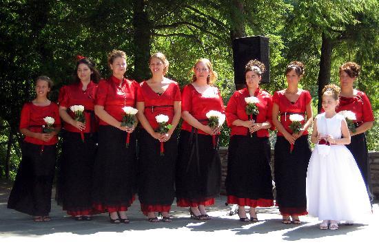 Glen Iris Inn: my Bridesmaids