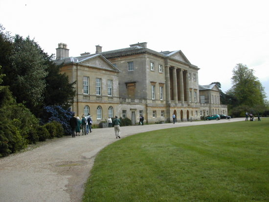 Reading, UK: Basildon Park - front of the house