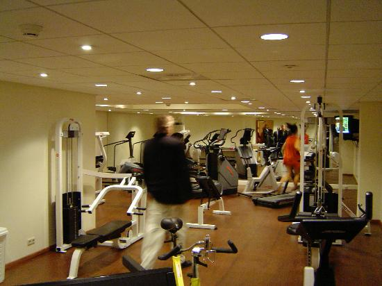 NH Amsterdam Noord: gym